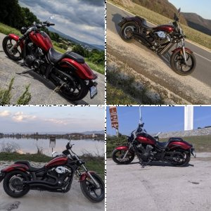 2012 Yamaha Stryker (The Red Nomad)